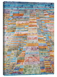 Lerretsbilde  Main path and Byways - Paul Klee