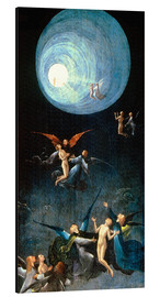 Aluminiumsbilde  Ascent of the Blessed - Hieronymus Bosch