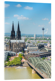 Akrylbilde  Cologne Cathedral (Cathedral of St. Peter) - rclassen