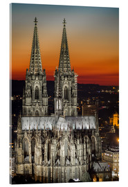 Akrylbilde  cathedral of cologne - rclassen