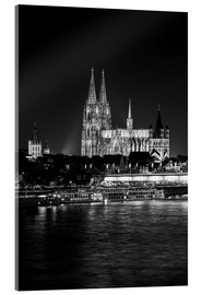 Akrylbilde  Cologne Cathedral at night - rclassen
