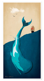 Plakat Moby Dick I