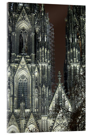 Akrylbilde  Detail of Cologne Cathedral