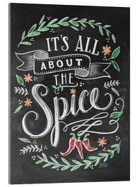 Akrylbilde  It's all about the Spice - Lily & Val