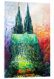 Akrylbilde  Cologne Cathedral Abstract - Renate Berghaus