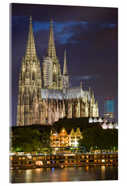 Akrylbilde  cathedral of cologne - Dieterich Fotografie