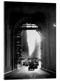 Akrylbilde  Arch at Grand Central Station - historical