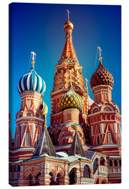 Lerretsbilde  St. Basil's Cathedral, Russia
