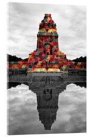 Akrylbilde  Monument to the battle of the nations Colour Pop