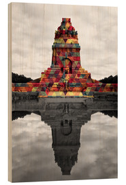 Trebilde  Monument to the battle of the nations Colour Pop