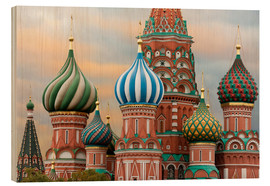 Trebilde  St. Basil's Cathedral in Moscow - Miles Ertman
