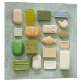 Akrylbilde  Soap Collection - Andrea Haase Foto
